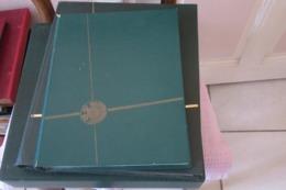 Album  Anciennes Colonies  Afrique Du Sud , Indes, Barbades,  Iles Faklands, Caiman , Nigeria,  Antigua,  Bahamas - Collections (en Albums)