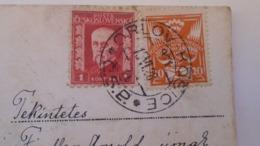 D168181  Czechoslovakia  Postcard  Lobster   TPO -Railway Post -BAHNPOST - Orlov-Kosice   1928 - Tschechoslowakei/CSSR