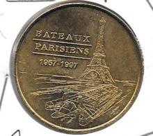 Jeton Touristique 75007 Bateaux Parisiens 2001 - Monnaie De Paris