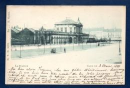 Gand. La Station.  Août 1899 - Gent