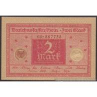 TWN - GERMANY 59 - 2 Mark 1.3.1920 AU/UNC - Germania