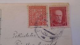 D168183  Czechoslovakia  Postcard Konst. Busek - Costumes- TPO -Railway Post - Orlov-Plaveč Nad Popradom-Kosice Ca 1930 - Tschechoslowakei/CSSR