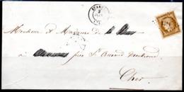 SUPERBE - YT N° 1a Sur Lettre - Cote: 900,00 € - 1849-1850 Cérès