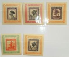BELGIAN CONGO RUANDA URUNDI UPU 1949 12 Blocs MNH** - Blocks & Kleinbögen