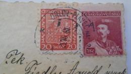 D168184  Czechoslovakia  Postcard  Pólya T. - Costumes- TPO -Railway Post - Orlov-Plaveč Nad Popradom-Kosice Ca 1932 - Briefe U. Dokumente