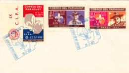 PARAGUAY - 1965 - FDC - 9è Rallye Scout D'Assomption - Covers & Documents
