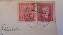 D168185  Czechoslovakia  Postcard   - Costumes- TPO -Railway Post - Orlov-Plaveč Nad Popradom-Kosice Ca 1930 - Tschechoslowakei/CSSR
