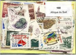 Lot 100 Timbres Afrique Du Sud - Stamps