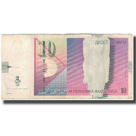 Billet, Macédoine, 10 Denari, 2007, KM:14g, TTB - Macédoine