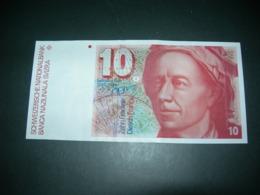 Svizzera 10 Francs - Zwitserland