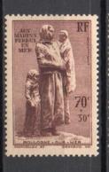 - FRANCE N° 447 Neuf * MH - 70 C. + 30 C. Lilas-brun Aux Marins Perdus En Mer 1939 - Cote 15 EUR - - Neufs