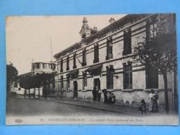 Fontenay-sous-Bois : La Nouvelle Poste Boulevard Des Ecoles ( Personnages ) - Fontenay Sous Bois