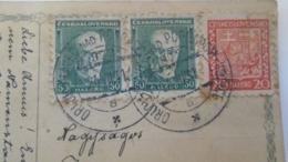 D168189 Czechoslovakia  Postcard   - TPO -Railway Post - Orlov-Plaveč Nad Popradom-Kosice Ca 1931 - Briefe U. Dokumente