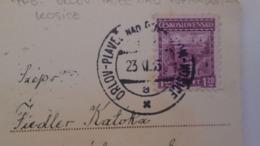 D168190 Czechoslovakia  Postcard   - TPO -Railway Post - Orlov-Plaveč Nad Popradom-Kosice Ca 1933 - Tschechoslowakei/CSSR