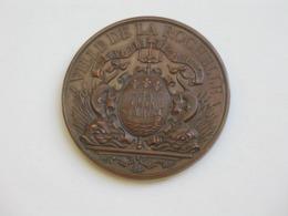 Médaille LA ROCHELLE - Ville De La Cercle Rochelais De La Ligue De L'enseignement   **** EN ACHAT IMMEDIAT **** - Professionnels / De Société