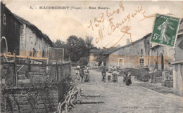 88-MACONCOURT- RUE HAUTE - Francia