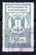 Sello  Mutualidad De Funcionarios  Ministerio De Turismo - Spanien