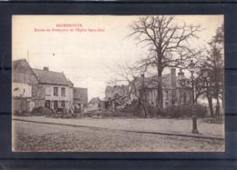 59. Hazebrouck. Ruines Du Presbytère De L'église Saint éloi. Bon De Souscription - Hazebrouck