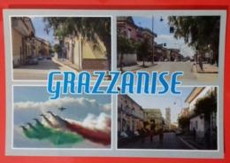 Caserta Grazzanise Vedutine Strade Campanile Chiesa Madre Aeroporto Frecce Tricolori - Caserta