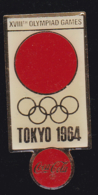 60042-Pin's.coca Cola.Jeux Olympiques.Tokyo.Japon.... - Coca-Cola