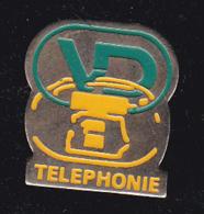 60045-Pin's.VD Com -Téléphonie - France Telecom