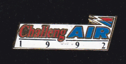 60055-Pin's. Challeng Air . - Marques