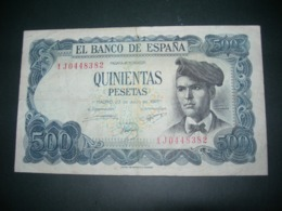Spagna 500 Pesetas - [ 3] 1936-1975 : Regency Of Franco