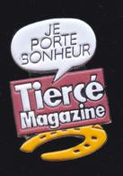 60059-Pin's. Tiercé Magazine.Presse.journal.jeux.cheval. - Jeux