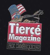 60060-Pin's. Tiercé Magazine.Presse.journal.jeux.cheval. - Jeux
