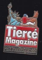 60061-Pin's. Tiercé Magazine.Presse.journal.jeux.cheval. - Jeux