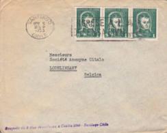 CHILI - Lettre Commerciale Pour La Belgique - Chili