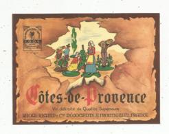étiquette , Vin ,  COTE DE PROVENCE ,Raoul Ricard , Frontignan - Etiquettes