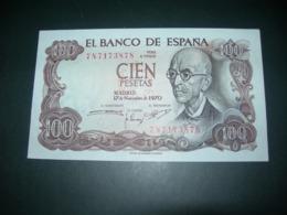 Spagna 100 Pesetas - [ 3] 1936-1975: Regime Van Franco