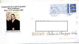 Pap Logo Bleu Cachet Bouy Illustré Guillaumet - Listos Para Enviar: Transplantes/Logotipo Azul