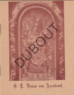 ASSEBROEK/Brugge Onze Lieve Vrouw 1955 Handboekje Bedevaarders (R227) - Oud