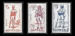 SENEGAL  1941  -  Y&T  170 à 172  - Défense De L'Empire   -  NEUFS* - Sénégal (1887-1944)