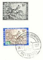 "BELGIUM CEPT ""Aero-Space Electronics - MELSBROEK - 24.6.1967"" PRE-RELEASE FDC!!! - 1961-70"