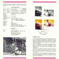 "BELGIUM CEPT ""Europa - Mai 1940 - 5800 GEMSBLOUX 8.5.1976"" PRE-RELEASE FDC!!! - 1971-80"