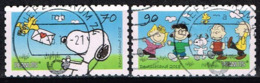 Bund 2018,Michel# 3371 - 3372 O Comic: Peanuts Selbstklebend - BRD