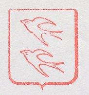 Meter Cover Netherlands 1981 Bird - Swallow - Vogels