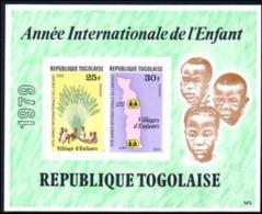 Togo 1979 IYC AIE Imperf  MNH - Kind & Jugend
