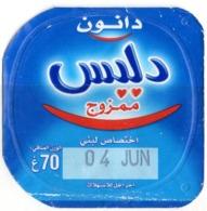 "Opercule Cover Yaourt Yogurt "" Danone "" Délice Yoghurt Yoghourt Yahourt Yogourt - Opercules De Lait"