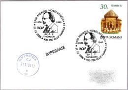 Sir J.J.THOMSON. Premio Nobel De Fisica 1906. C.Napoca 2006 - Premio Nobel