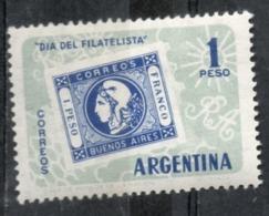 Argentina 1959 - Giornata Della Filatelia Day Of Philately MH * - Giornata Del Francobollo