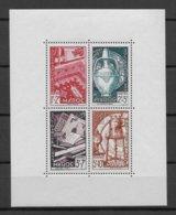 MAROC - BLOC YVERT N° 3 ** MNH - COTE = 35 EUR - Morocco (1891-1956)