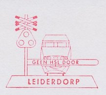 Meter Cut Netherlands 1994 Train - Railway Barrier - Treinen
