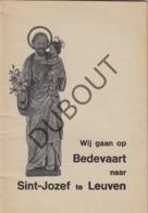 LEUVEN/LOUVAIN Bedevaart Sint Jozef 1971 (R222) - Oud