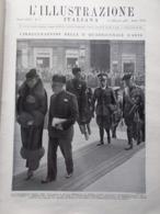 L'Illustrazione Italiana 10 Febbraio 1935 Verona Congo Manzotti Bridge Milizia - Libri, Riviste, Fumetti