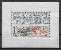 MAROC - BLOC YVERT N° 4 ** MNH - COTE = 35 EUR - Morocco (1891-1956)