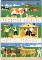 Livret.  Recettes Suisses. Mets Au Fromage. - Gastronomie